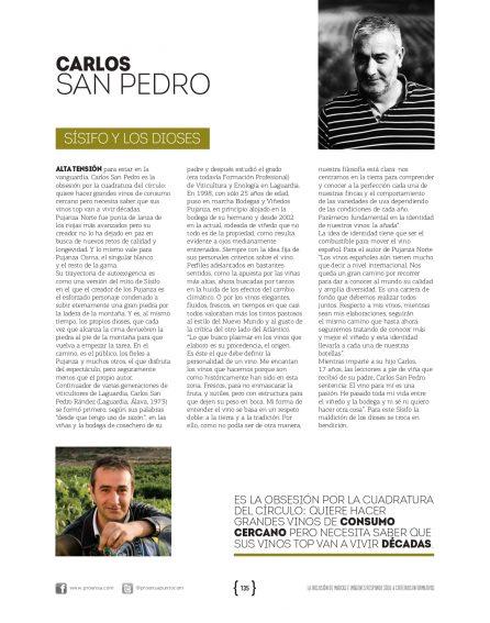 Andrés Proensa Carlos San Pedro Pujanza Rioja Vino